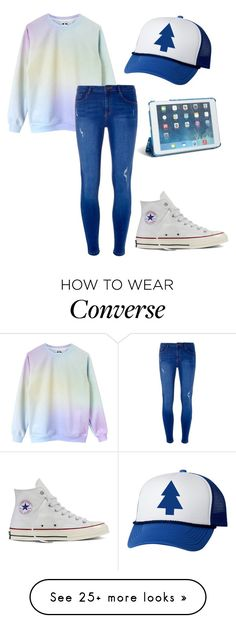 """""""My sisters outfit"""" by carleelingard on Polyvore featuring Vera Bradley, Dorothy Perkins and Converse"""