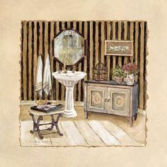 Vintage Bath III