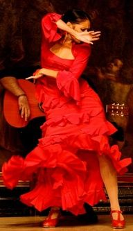 Weddings | Fire Engine Red - Flamenco - #red #dresses #red