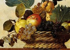 Oil Painting For Beginners, Oil Painting Techniques, Fruit Bowl Drawing, Michelangelo Caravaggio, Green Fig, Composition Art, Art Rules, Still Life Fruit, Nature