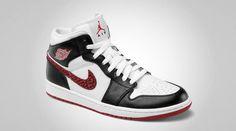 Air Jordan 1 Phat - White/Varsity Red-Black