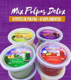 Kit Mix de Polpas Detox