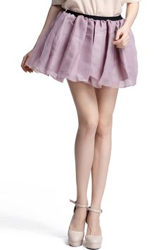 Shop High Waist Pink Skirt at ROMWE, discover more fashion styles online. Latest Street Fashion, Summer Essentials, Romwe, Dress To Impress, Short Dresses, Street Style, Rococo, High Waist, Skirts