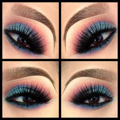 @pala_foxxia | # EOTD // EYE CANDY EYESHADOW // #crease paradisco and passionate // lid : aq... | Webstagram - the best Instagram viewer