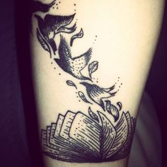 Birthday ink! :D Stories carry you away... #booktattoo #tattoo #litfreak #birthdayink