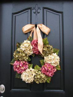Summer Wreaths,Summer Wreaths for Door, Wreath, Etsyâ?¦