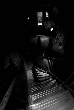 Castle Dark Stairs