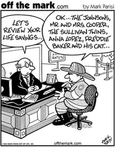 Wacky Wednesday: Review Your Life Savings.