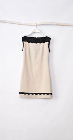 Little Dress  Beige by HannaBoutiqueHB on Etsy, €53.00