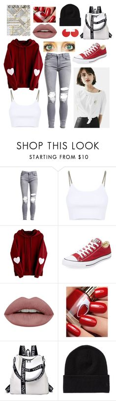 """Day 1: Brenna Lovell-Everyday Outfit"" by andromeda07 ❤ liked on Polyvore featuring AMIRI, Alexander Wang, Converse and Isabel Marant"