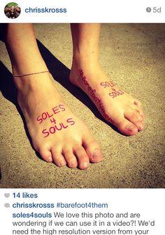 #barefoot4them