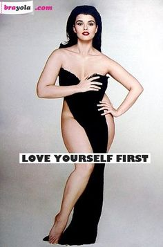 love yourself first! #quotes #curvy gals