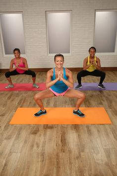 Squat and plank workout you can do anywhere!