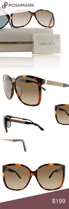 BNWT Jimmy Choo sunnies Gorgeous cat eye sunnies. Made in Italy. Get ready for summer! Jimmy Choo Accessories Sunglasses