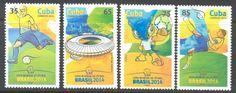 1 febrero, 2014 Correos Copa Mundial de Futbol Brasil 2014