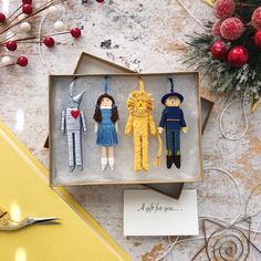 Christmas Crafts, Christmas Decorations, Christmas Ornaments, Clothespin Art, Wooly Bully, Worry Dolls, Tiny Dolls, Doll Crafts, Merry And Bright