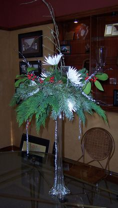 christmas centerpieces for tables | Printable Flier