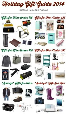 holiday gift guide 2014 best christmas