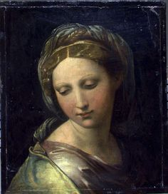 Portrait of a young woman (The Pearl),  c.1520 - Raphael