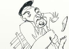 """Ilustración para """"El Pato"""" de Pablo Bracalenti.  Presentado a concurso Premio Itaú de Cuento Digital 2013."""