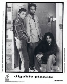Digable Planets....this group was known for mixing hip hop and jazz