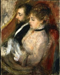 Box Theater ~ Pierre-Auguste Renoir (French, 1841–1919)