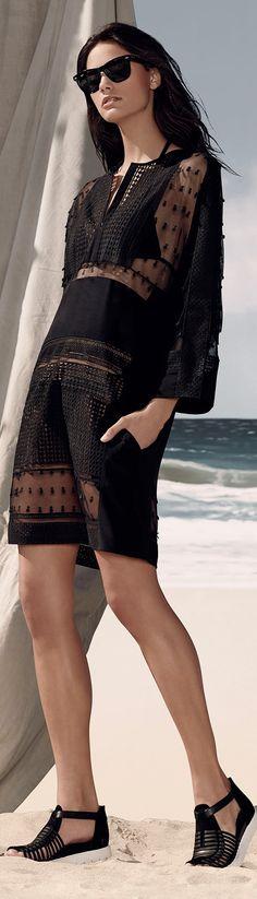 Fashion details | Comment: Bright Black. BCBG Max Azria