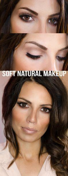 Soft Neutral Makeup Tutorial