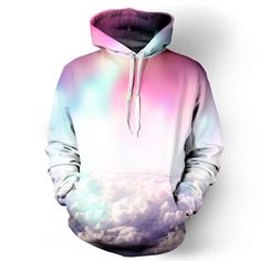 Beloved Shirts presents the Neon Clouds Hoodie Estimated 10 business day production time + shipping time, unless coupled with products that have a longer Cute Sweatshirts, Cool Hoodies, Cute Hoodie, Sweater Hoodie, Rave Outfits, Fashion Outfits, Beloved Shirts, Rave Wear, Raves