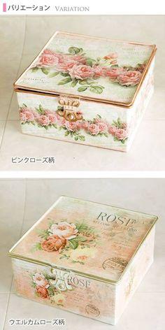 Beautiful little treasure boxes ღೋ