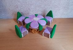 Clay indoor Fairy Garden Decoration Fairy by DownTheFairyPathUK