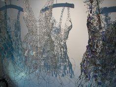 Glass Dresses by Diana Dias-Leao (Broadfield House Glass Museum, Kingswinford)