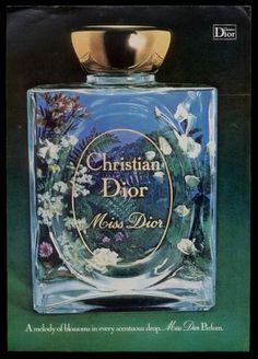Vintage Miss Dior perfume
