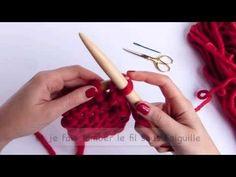 Rabattre des mailles pour une bordure élastique | Cours de tricot - YouTube