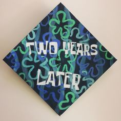 Spongebob graduation cap idea for Associates Degrees