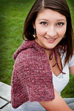 Gresham Hood pattern by Cynthia Lash; part of the Neighborhood Knits & Crochets Too: 2014 Rose City Yarn Crawl Pattern Collection eBook available on Ravelry. Photography by Joanna Schilling of Ember Owl Photography.
