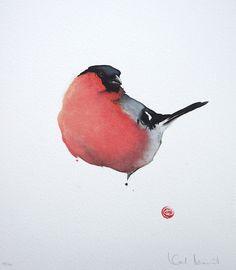 Акварельные птицы — dirty.ru