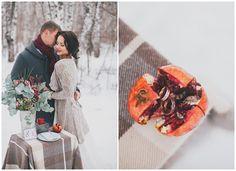 Благородный гранат: зимняя свадьба Алисы и Александра weddywood.ru