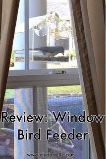 Review: Window Bird Feeder