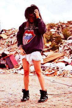 rocking those isabel marant sneakers Madame De Rosas b80355ffa8a