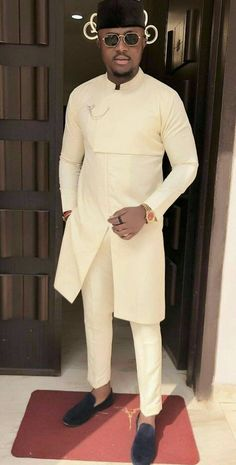 African attire for men - African men clothing, African men outfit, African fashion, African men wears African attire African Wear Styles For Men, Ankara Styles For Men, African Shirts For Men, African Dresses Men, African Attire For Men, African Clothing For Men, African Outfits, Nigerian Clothing, African Clothes
