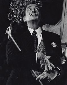 Salvador Dali by Edward Pfizenmaier 1964
