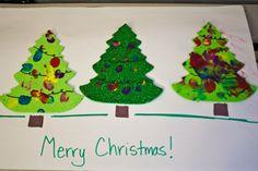 Thumbprint Christmas Tree