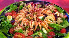 ENSALADAS ESPECIALES Y FESTIVAS | Cocinar en casa es facilisimo.com