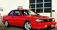 Red Nissan Sentra, Nissan Tuning, Danger Zone, Old School Cars, Nissan Skyline, Cristiano Ronaldo, Jdm, Cars And Motorcycles, Ideas Para
