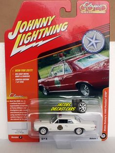 1:64 JOHNNY LIGHTNING CLASSIC GOLD 2017 REL 1C - BLAKE RAINEY'S 1965 PONTIAC GTO #JohnnyLightning #Pontiac
