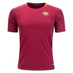 2017 Player Version Jersey Rome Home Red Shirt