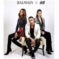 """What the Balmain x H&M Collection Means for the Future of Fashion"" On the blog @ Plaid Is My Favourite Colour  (not really sure where to pin this...)"
