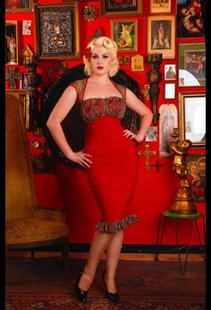 Great party dress with leopard accents from Pinup Girl Clothing.
