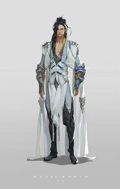 Gideon Razak: Líder da brigada extermínio demoníaco, o escolhido da Jóia azul